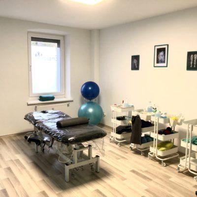 Physio Ambulanz Bensberg Physiotherapie Praxis Physio Krankengymnastik Behandlung Raum