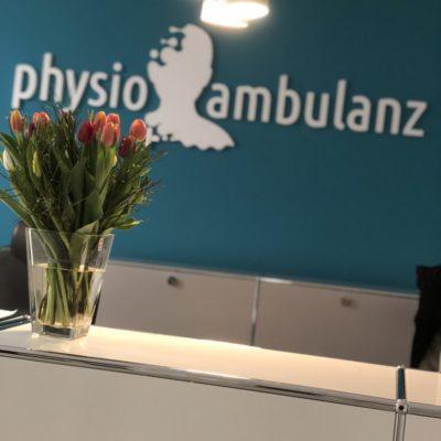 Physio Ambulanz Bensberg Physiotherapie Praxis Physio Krankengymnastik Empfang