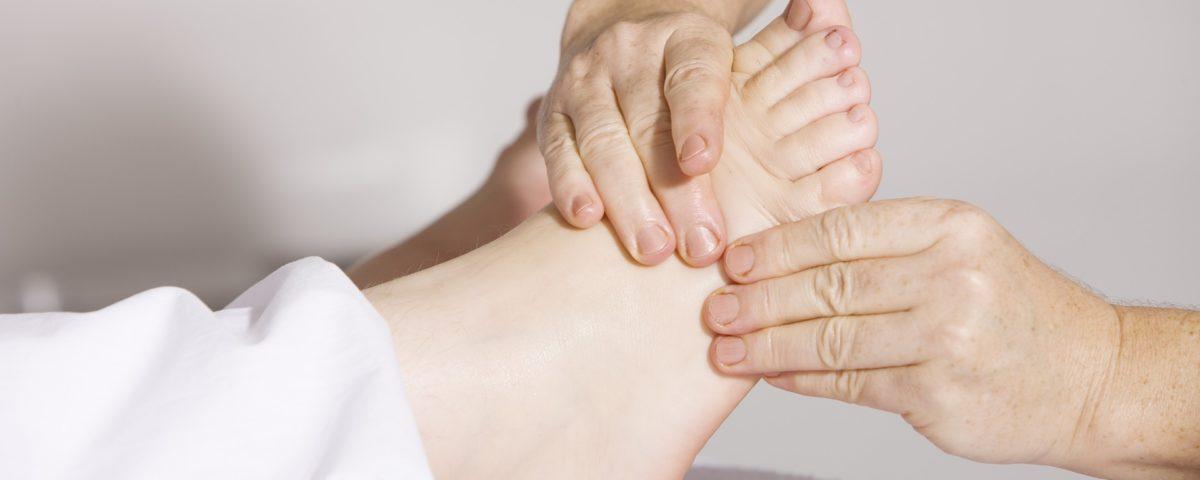 Fussreflexzonen Therapie